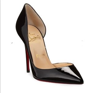Christian Louboutin Iriza black leather pumps 7